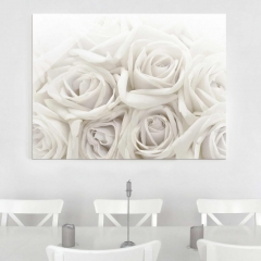 Glasbild: Wedding Roses Wallart.de