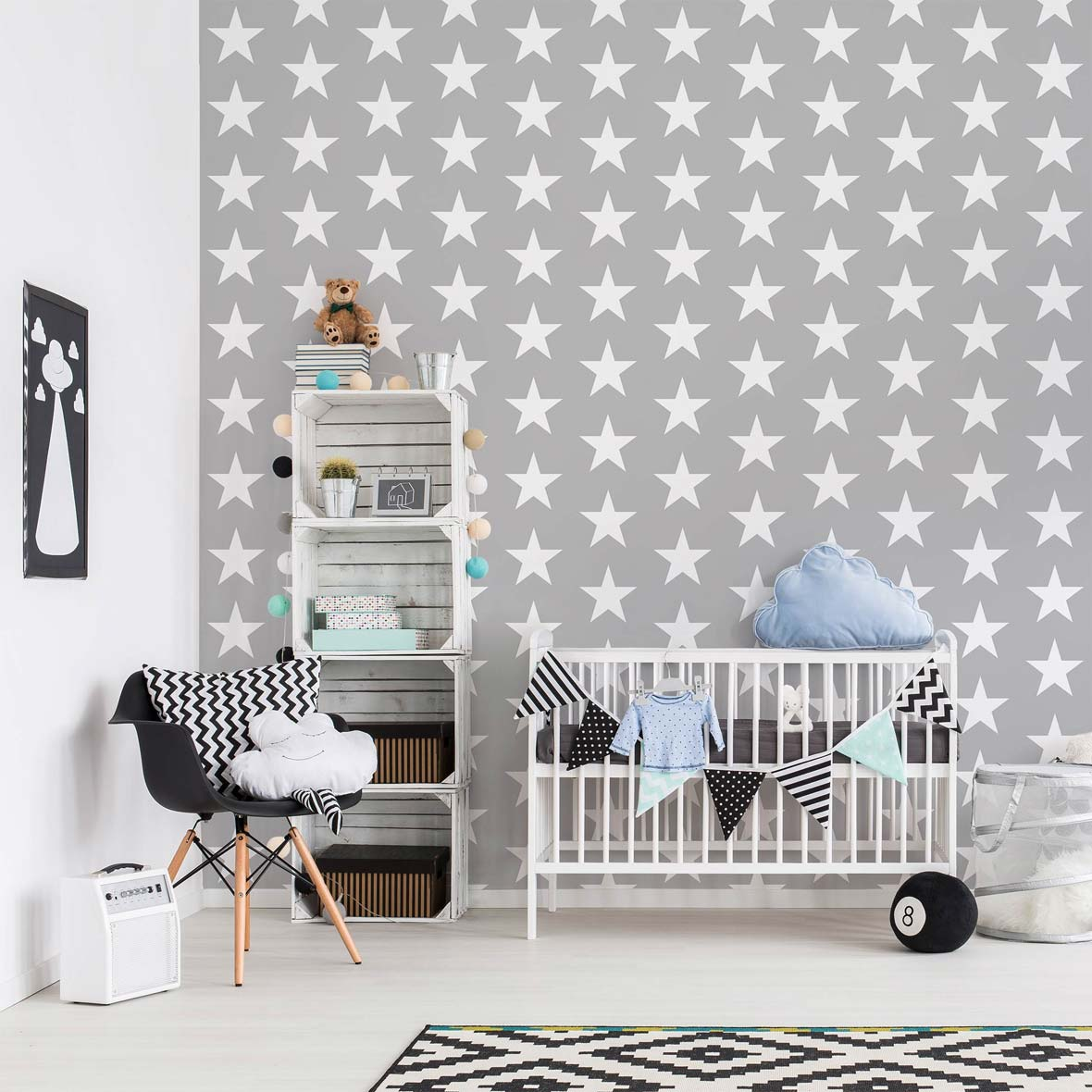 Tapeten ratgeber wall art in xxl magazin for Vliestapete babyzimmer