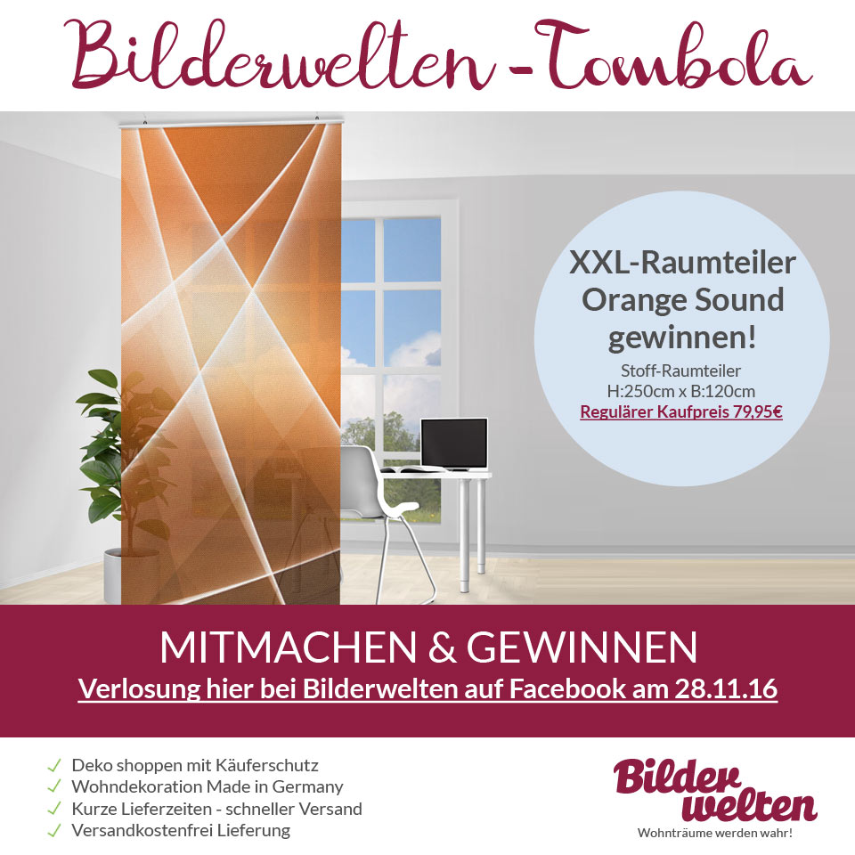 raumteiler orange sound gewinnen magazin. Black Bedroom Furniture Sets. Home Design Ideas