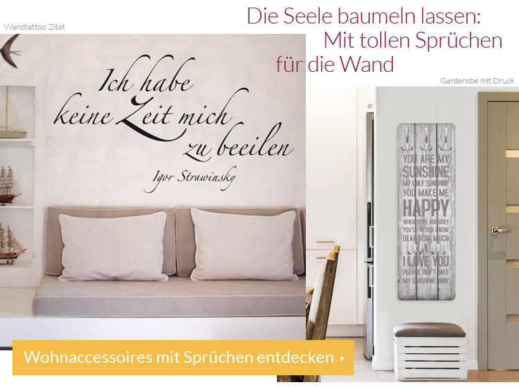 wohnideen wall art zum wohlf hlen magazin. Black Bedroom Furniture Sets. Home Design Ideas